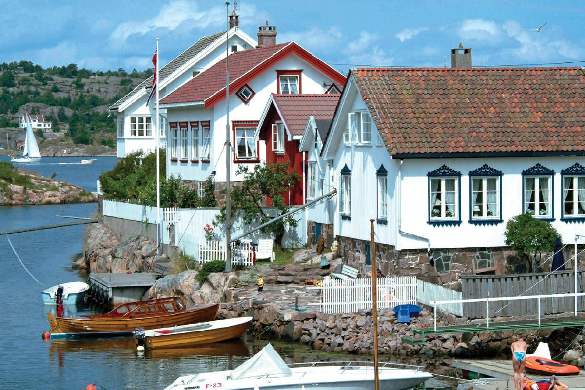 Arendal Lyngør Sørlandet turguide