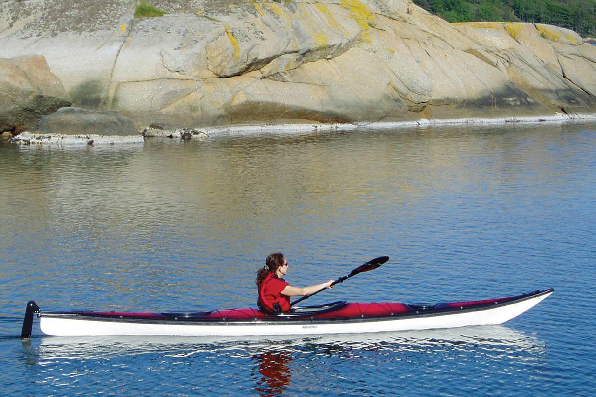 Auesøya Reddalskanalen Sørlandet turguide padling