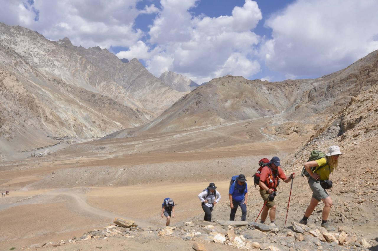 trekking stok kangri india himalaya