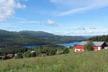 Austbø Orrnuten turguide Rauland Telemark
