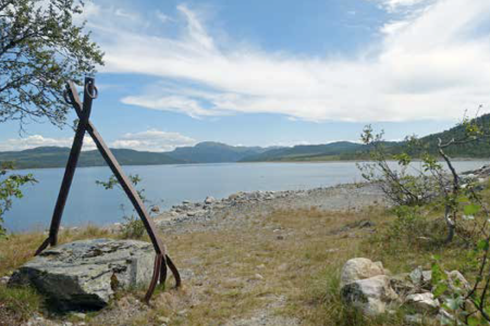 Steinkloa Farhovd - Kromvik Turguide Rauland Telemark
