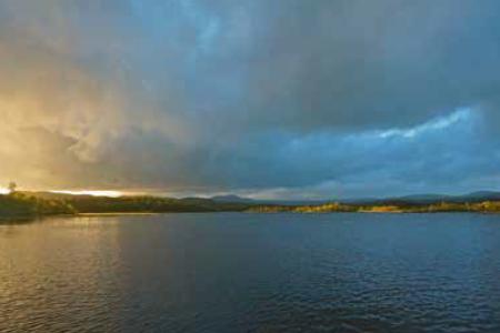 Møsvassdammen - Hondletjønn - Grosettjønn turguide Telemark
