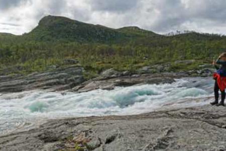 Mogen Argehovdfossen turguide Telemark Rauland
