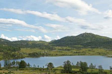 Farhovdtjønn Rauland Turguide Telemark