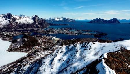 TJELDBERGTINDEN, Austvågøya, lofoten