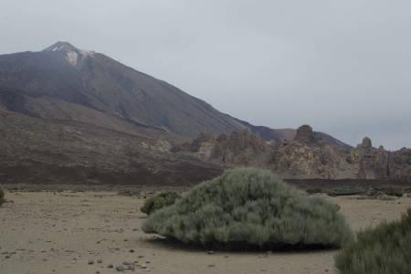 Pico del Teide har gondolbane nesten til toppen og er regnet som verdens tredje største vulkan. Foto: Erlend Sande