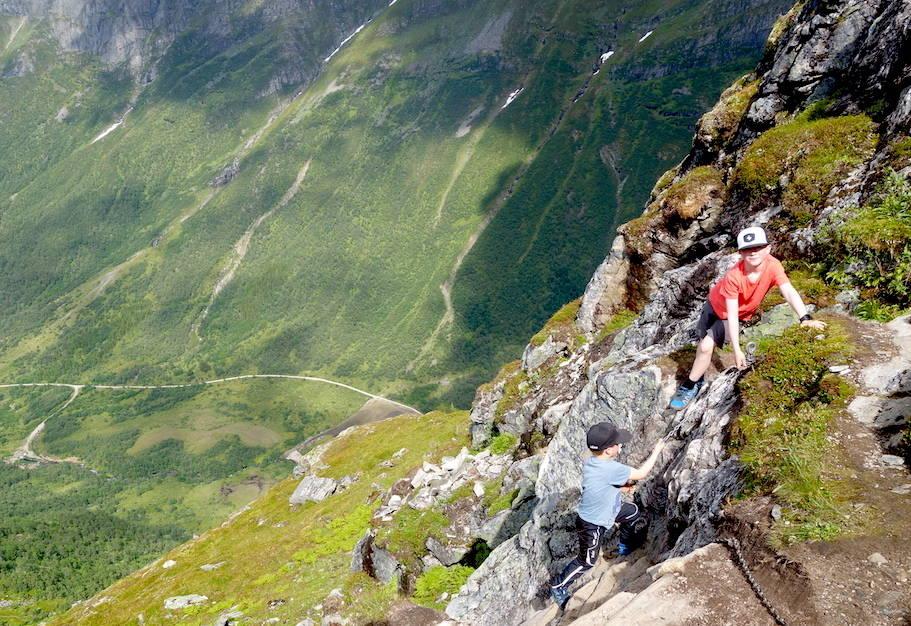 fjelltur til eggenipa