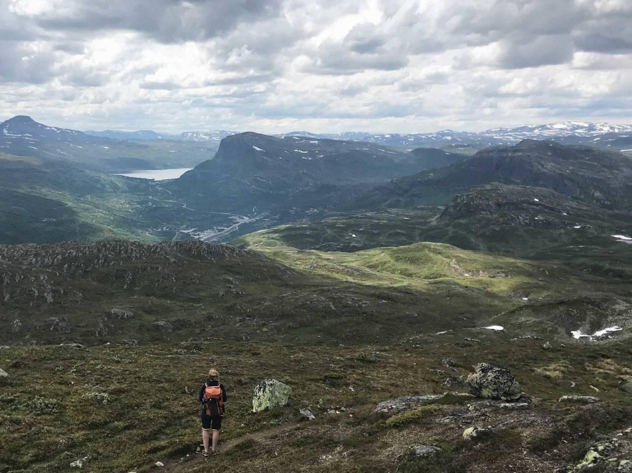 sommer-toppturer tyin vang Filefjell