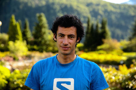 SJEFSLØPER: Katalonieren blir omtalt som verdens råeste fjelløper både med joggesko og med randonee-ski på beina. Foto: Jørn-Arne Tomasgard.