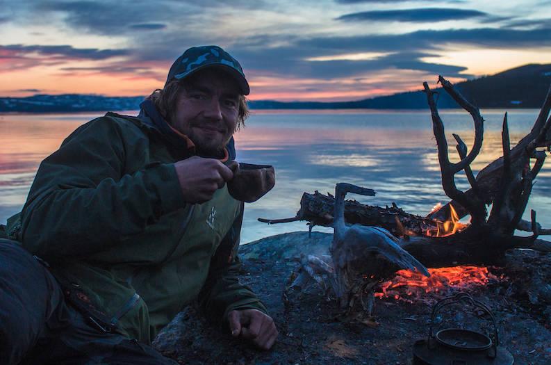 JENS KVERNMO: Akkurat nå befinner Jens Kvernmo seg ett eller annet sted i Canada. Foto: Fredrik Bye