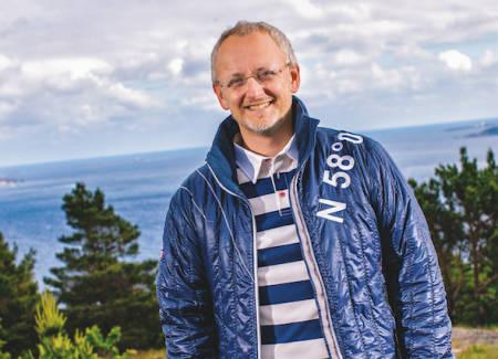 FORETREKKER RUSLETURER: Stomberg-gründer Steinar J. Olsen. Foto: Jan Rune Eide