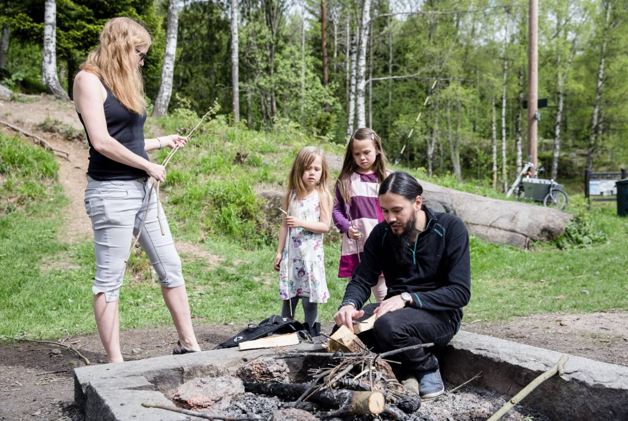 klare seg sjøl i naturen kumano ensby foto: Line Hårklau