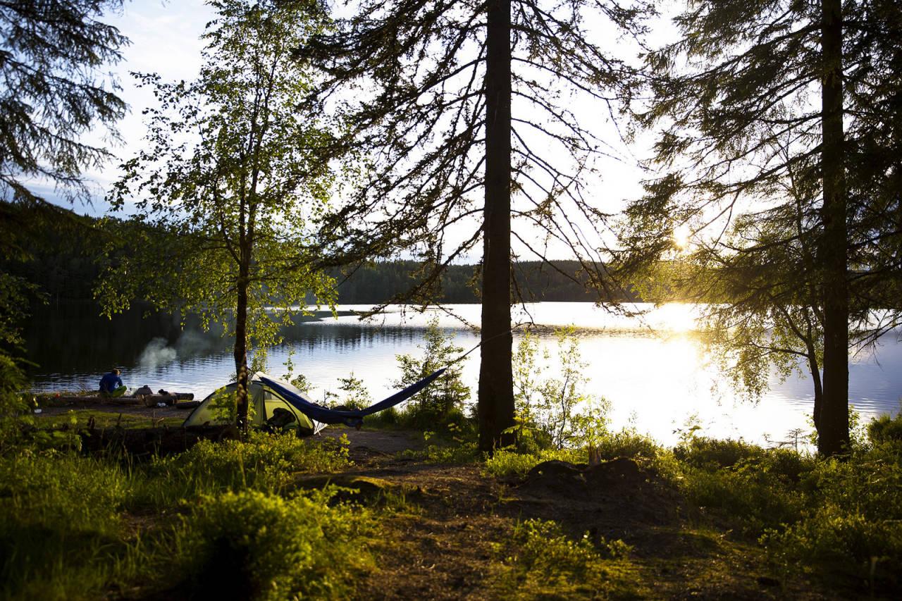 RO: I naturen finner vi hvilepulsen! Bekymringene legges igjen hjemme, og vi kommer inn i naturens takt, der alt foregår i et roligere tempo. Foto: Line Hårklau