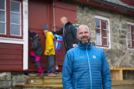 DNT: Generalsekretær Dag Terje Klart Solvang. Foto: André Marton Pedersen