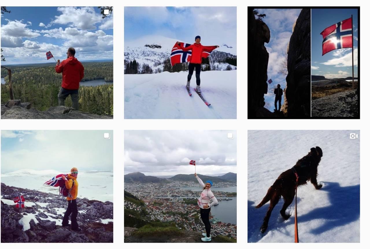 17. MAI-TUR: 17. mai 2020 er historie. Her er noen av bildene fra Instagram.