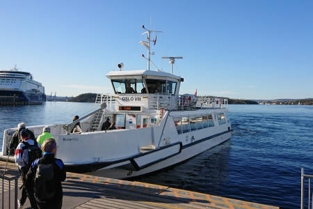 Båt oslo øyene oslofjorden hovedøya gressholmen langøyene bleikøya nakholmen