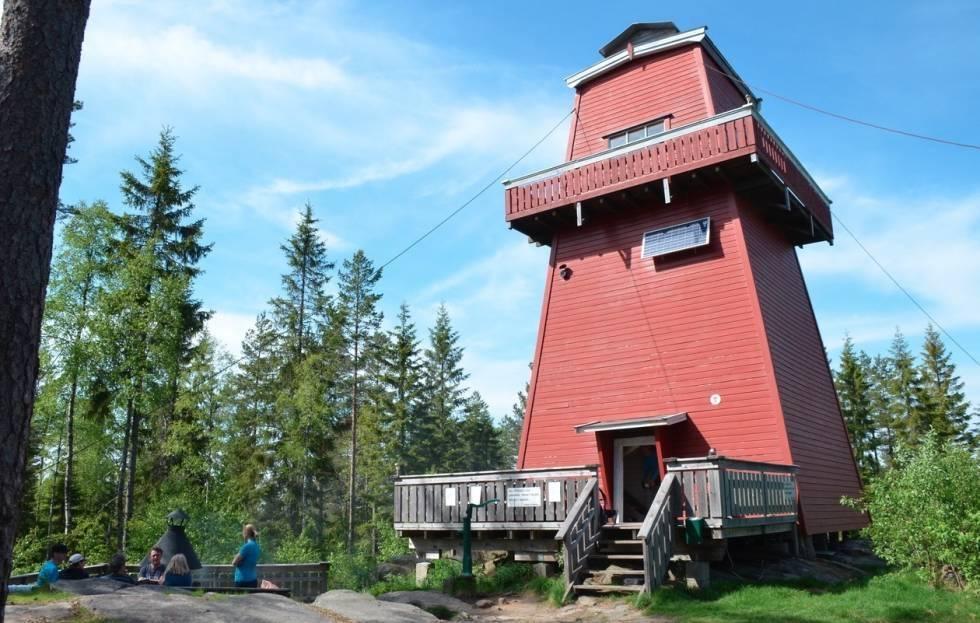branntårn og utkikkstårn oversikt