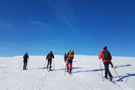 skitur påske hytte stortinget utemagasinet ski snøskuter