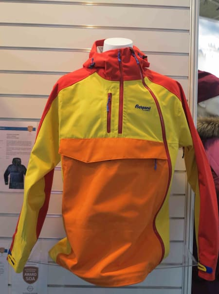 Bergans anorakk, som også er en jakke, er en ny versjon!