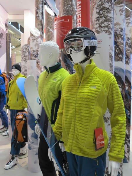 The North Face bruker Primalofts varme materialer, og lyser opp en trøtt hverdag.
