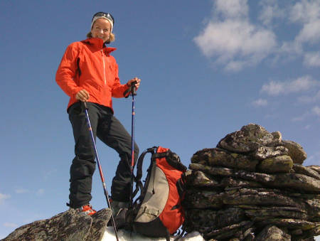 Solveig Kosberg, etablerer av snøskredvarsel.no. Foto: friflyt.no