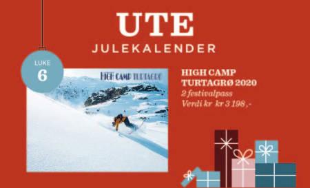 Vinn festivalpass til High Camp Turtagrø 2020