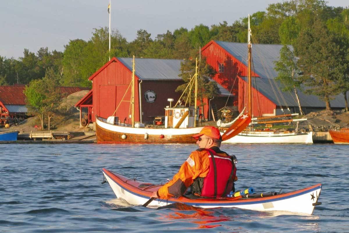 Bragdøya er et fint mål for padleturen. Fra Bragdøya kan du fortsette videre til andre padleperler i området, enten det er Flekkerøya eller østover. Foto: Lars Verket