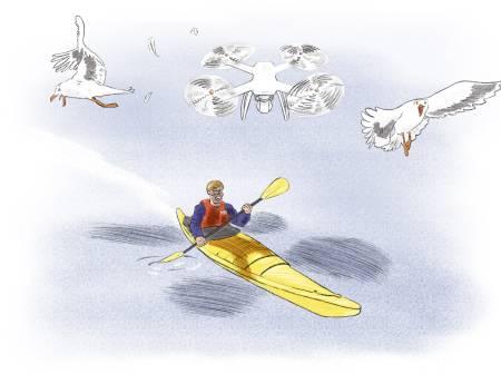 drone og frilufsliv