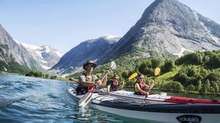 padling i tafjorden