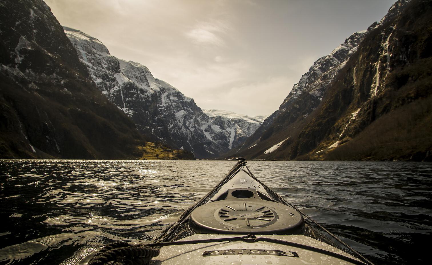 Padling i Nærøyfjorden | Kajakk | UTEMAGASINET.NO