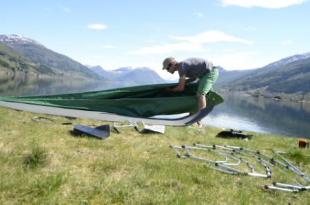 kanotur sette sammen kano