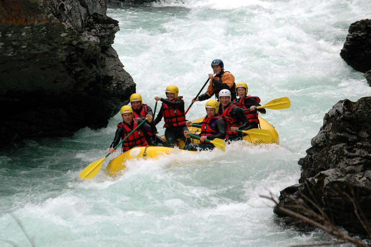 guide rafting padling norge