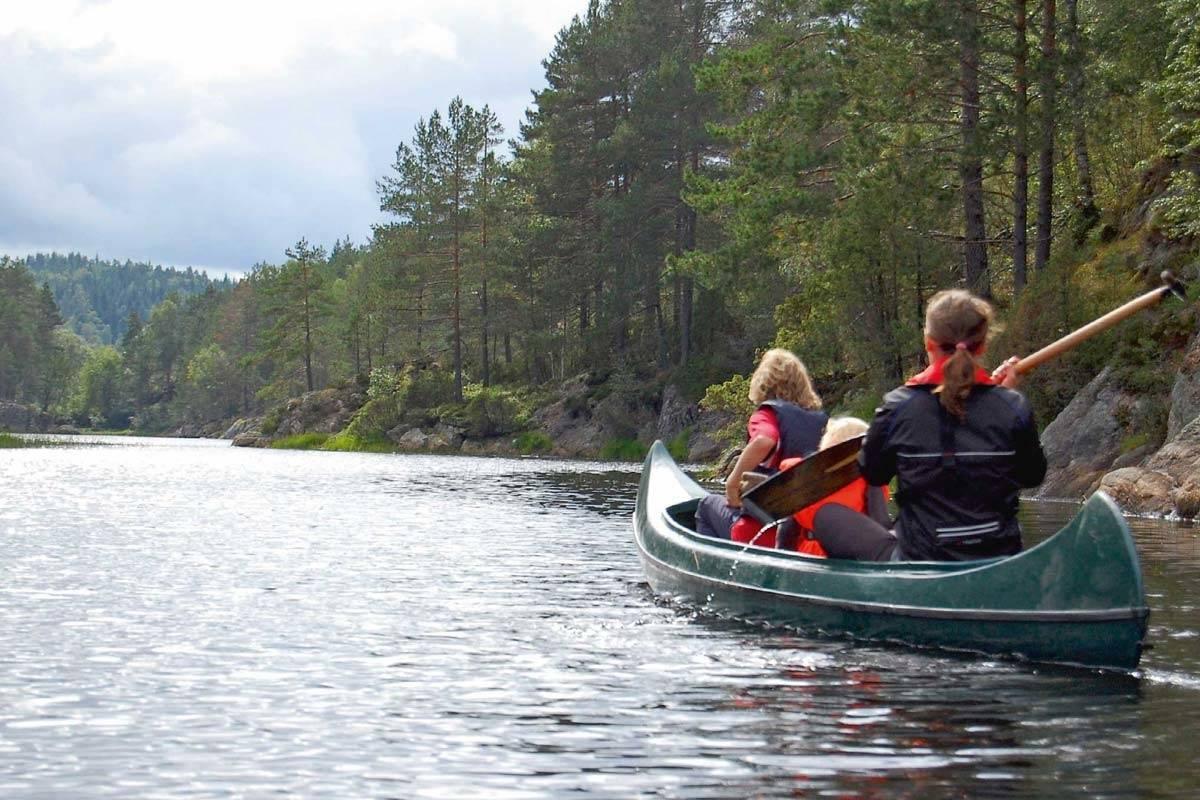 padling friluftsliv Ogge