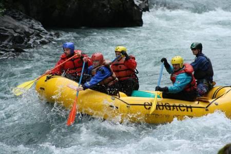 Rafting i Norge oversikt