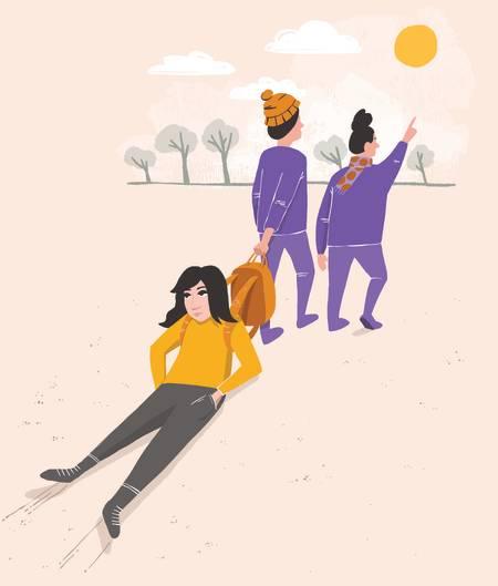 BLI MED: En liten skogstur kan gjøre stor forskjell, det vet jeg av erfaring, men det er vanskelig å ta initiativ hvis man er litt nedfor eller sliten. Da er det fint med en liten dytt, skriver Maria Grøntjernet.