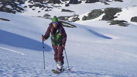 RISIKOSPORT? Mange forbinder topptur og ferdsel i vinterfjellet uløselig knyttet til skredfare. Foto: Christian Nerdrum