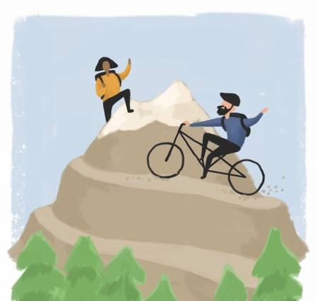 UTESTENGT? En nysgjerrig dialog er alltid – alltid!– bedre enn banning og vifting med fullfacehjelm i løse luften, skriver Eivind Eidslott.