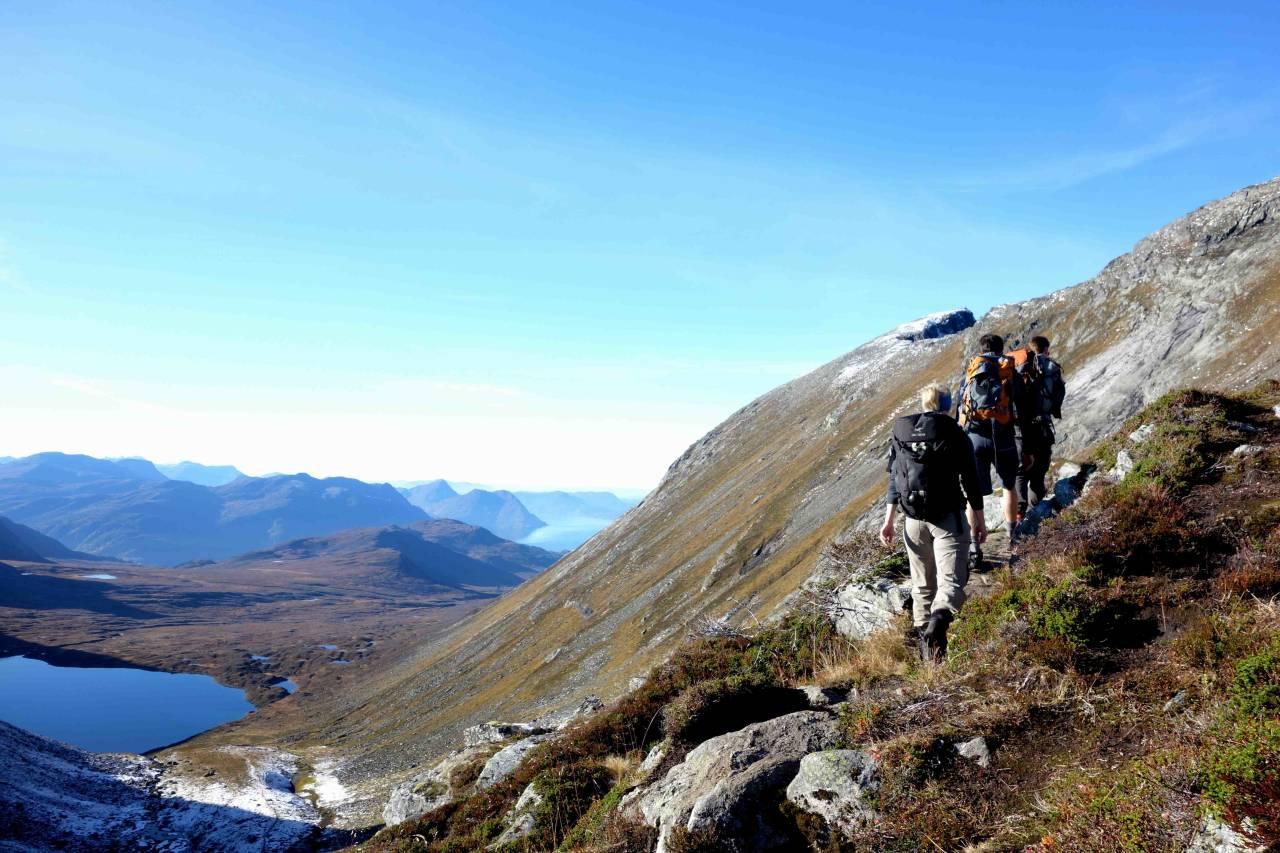 Fredrik Sigurdh meiner det er dei best tilrettelagte turistdestinasjonane som blomstrar i Noreg. Kva meiner du? Foto: Sandra Lappegard