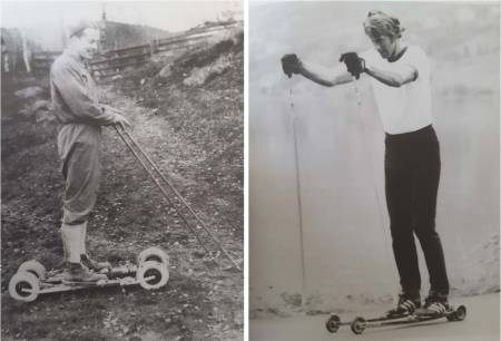 rulleski-pionerene i Norge
