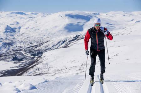 SKIFERIE PÅ HOVDEN : Hovden viser seg fra sin beste side. Foto: Øystein Kvanneid
