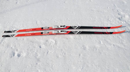 test av felleski for marka og fjellet rossignol r skin ultra