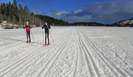 Fra Mylla, nord i Nordmarka. Foto: Erik Unneberg