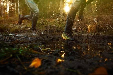 Løping med Goretex-sko