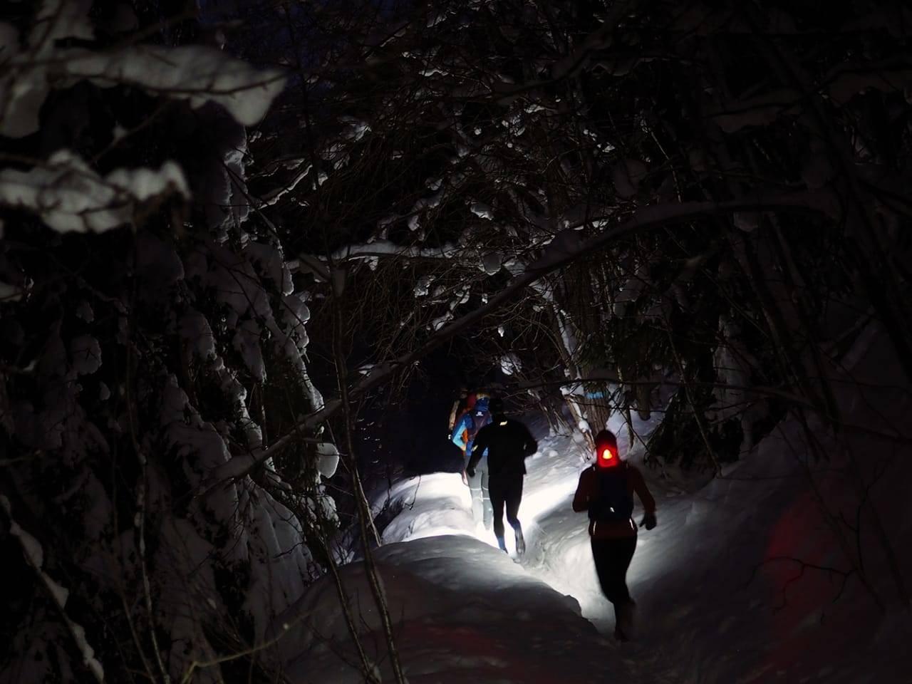 Løping i snø