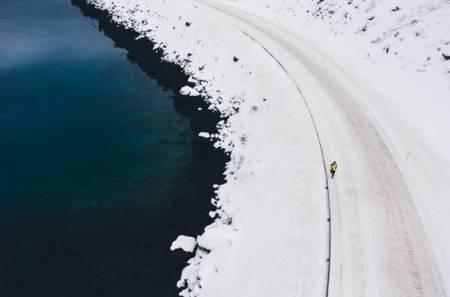 LØP FOR ARKTIS: Fjelløperen Pau Capell har vært i Norge og laget ny løpefilm.