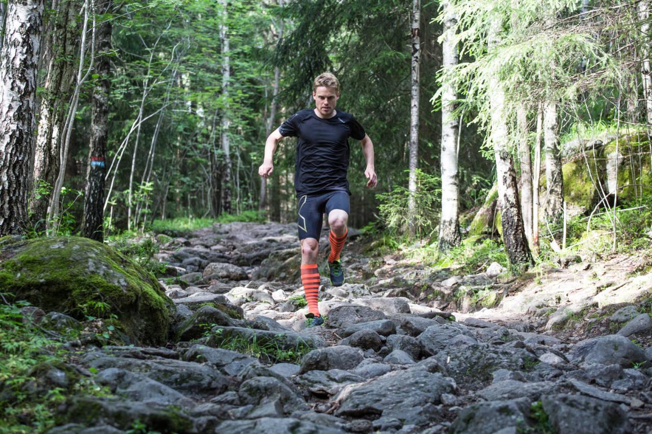 MOTIVERT: Alle har sin grunn til å løpe. Carl Godager Kaas hjelper deg å finne din. Bilde: Christian Nerdrum