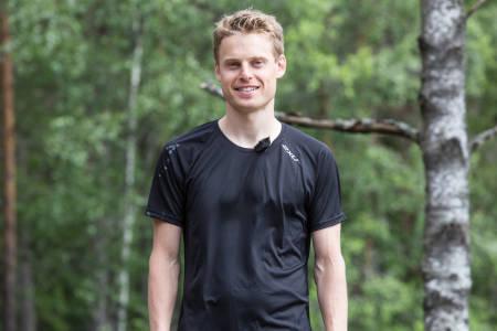 FØDT TIL Å LØPE: Carl Godager Kaas er vår løpsekspert. Lytt til ham og bli god til å løpe du også. Bilde: Christian Nerdrum