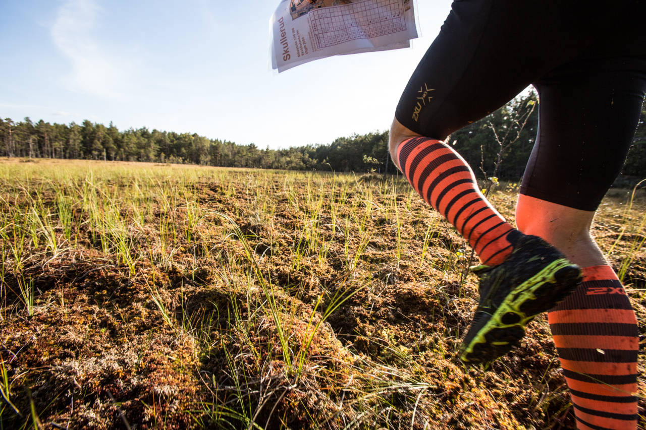 LØP DEG LITT VILL: Opplev og se mer på turen; løp med kart! Bilde: Christian Nerdrum