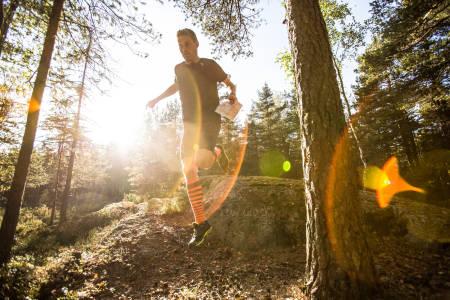 LØPSVILLIG: Kaas benyttet helgen til å vinne bakkeløpskonkurransen Oslos bratteste. Ikke fordi han er så dyktig til å lese orienteringskart, men god form har tydeligvis kommet med på