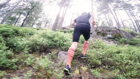 MOT I MOTBAKKEN: Hvor hardt og lenge du skal presse deg i motbakken kan variere veldig. Bilde: Christian Nerdrum